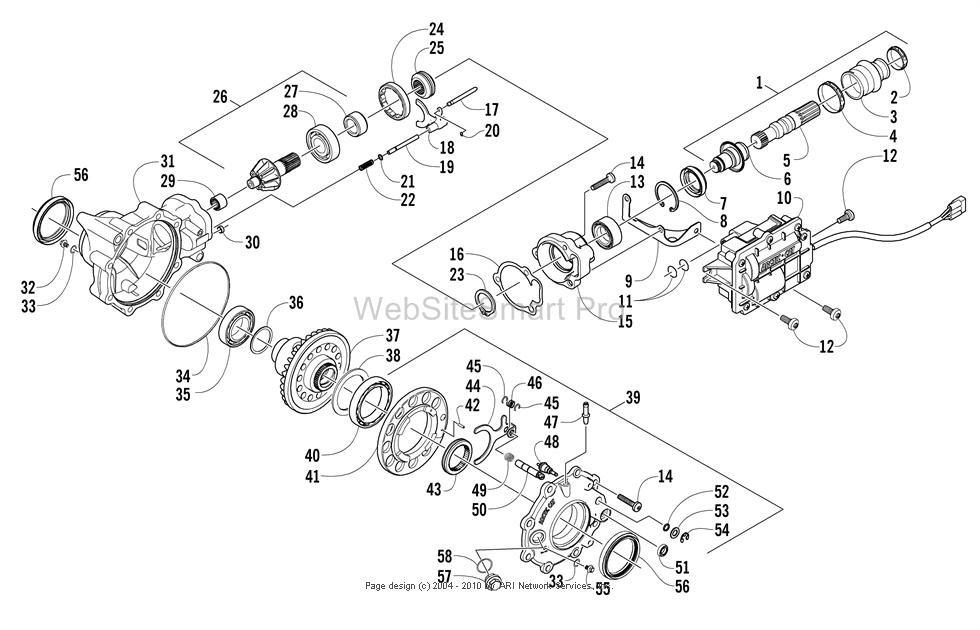 2010 Honda Rancher Wiring Diagram