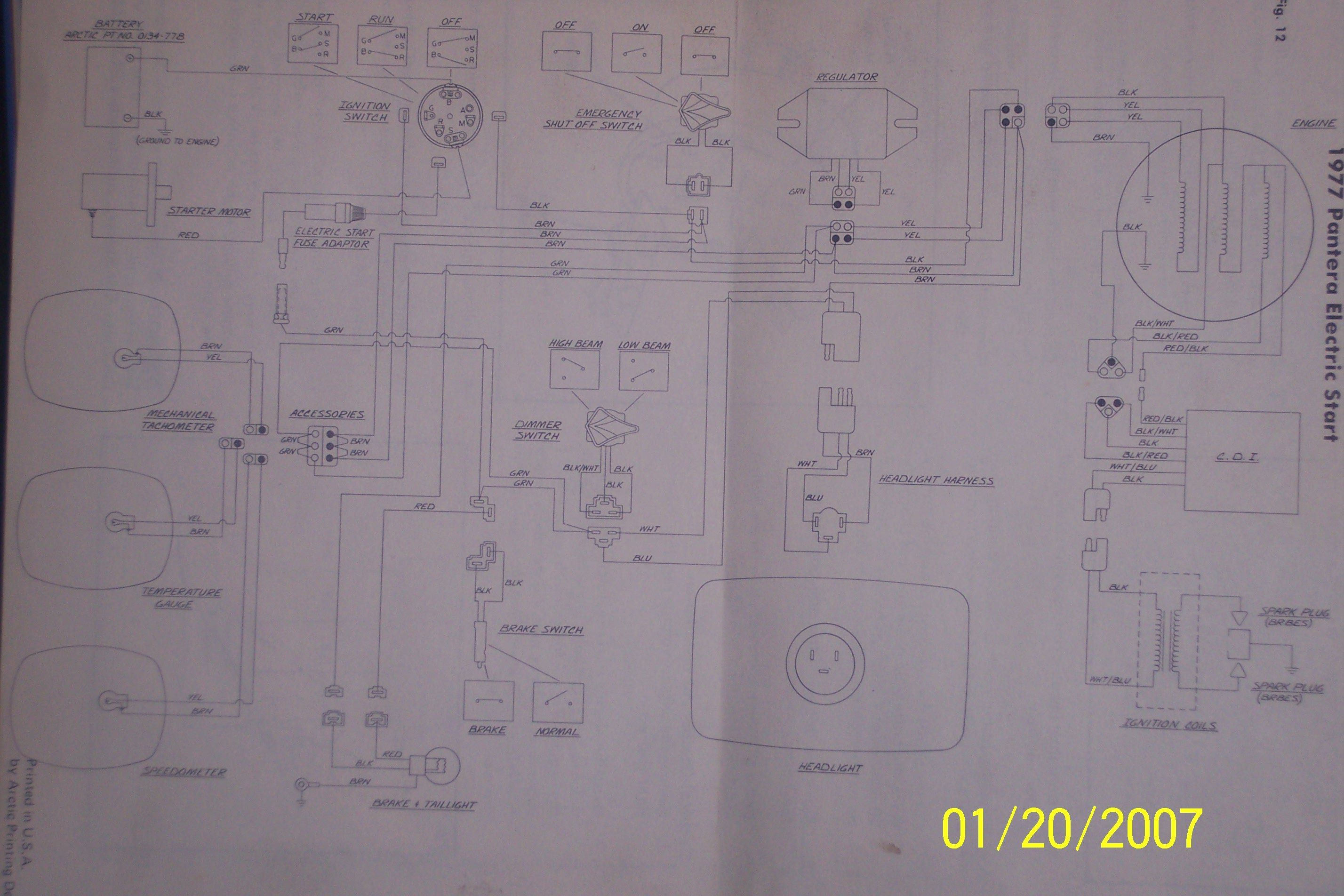 Rupp Snowmobile Wiring Diagram Library Old Diagrams Free Polaris Click Image For Larger Version Name 100 0319 Views 1147 Size 6874