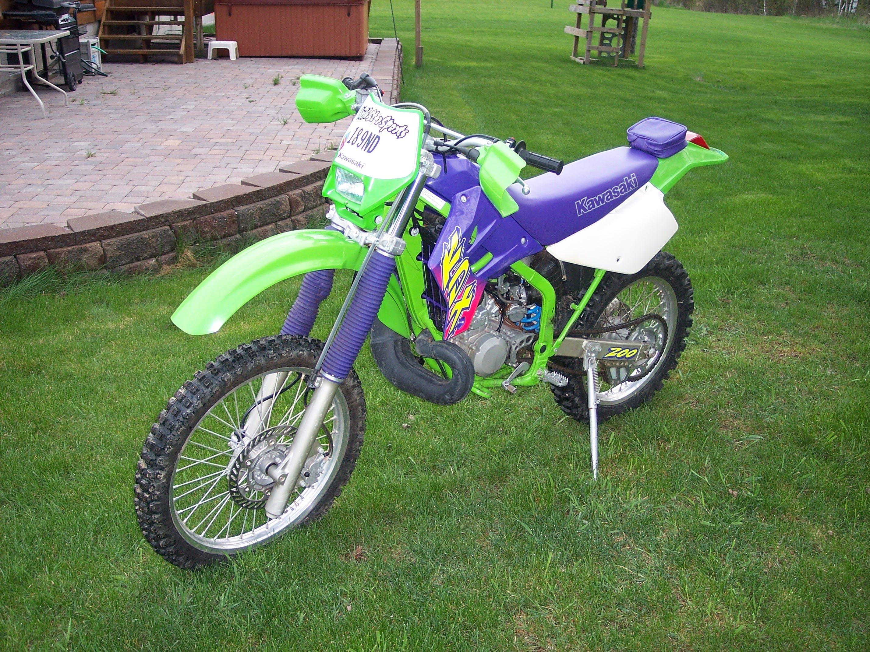 Kawasaki Kdx  For Sale