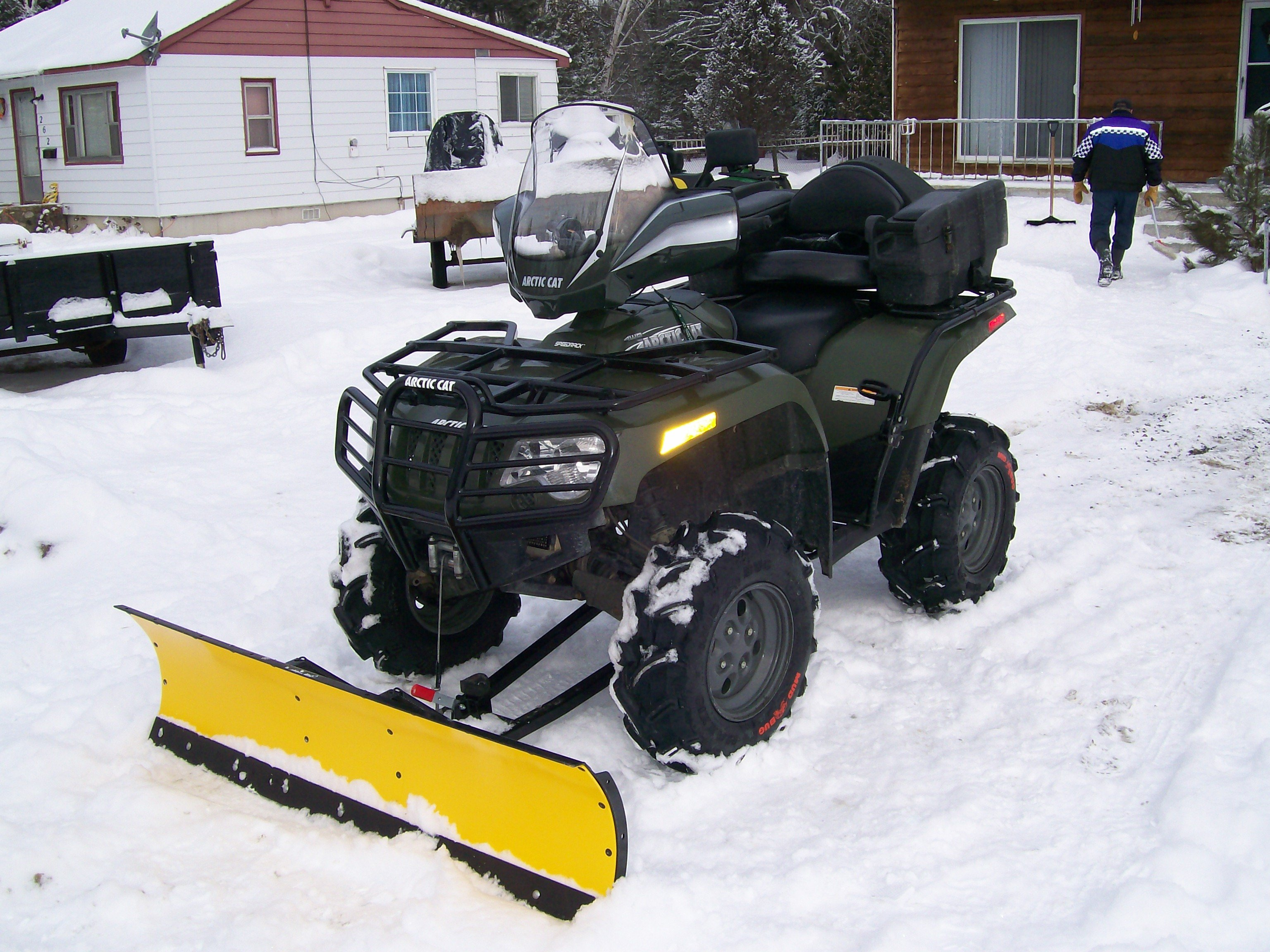 Which Snow Plow To Get Arctic Cat Forum