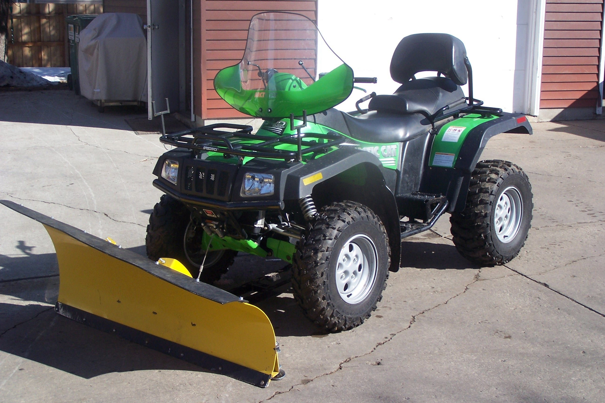 What are some good ATV snow plow kits?