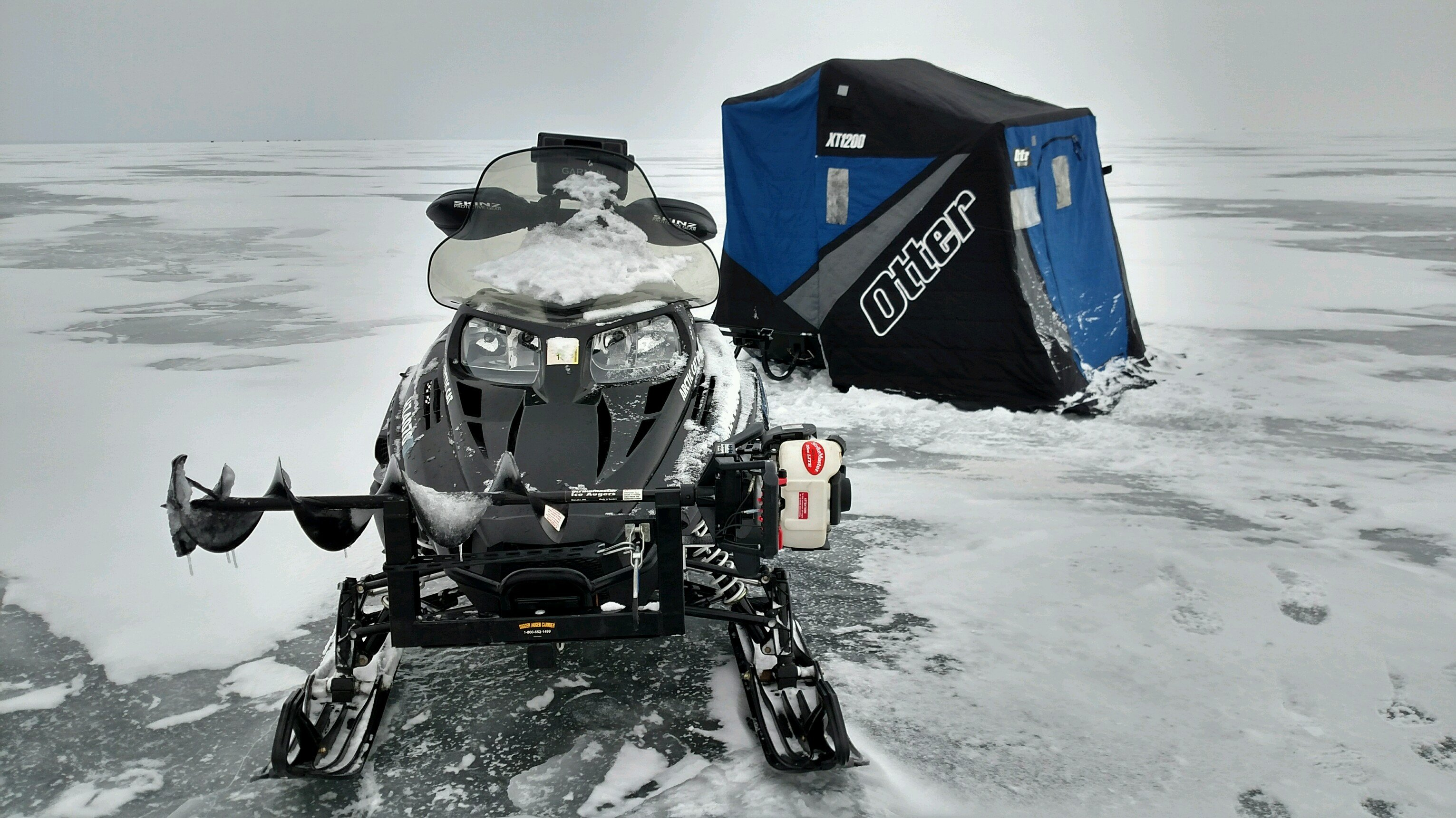 Ice fishing mods arctic cat forum for Ice fishing forum