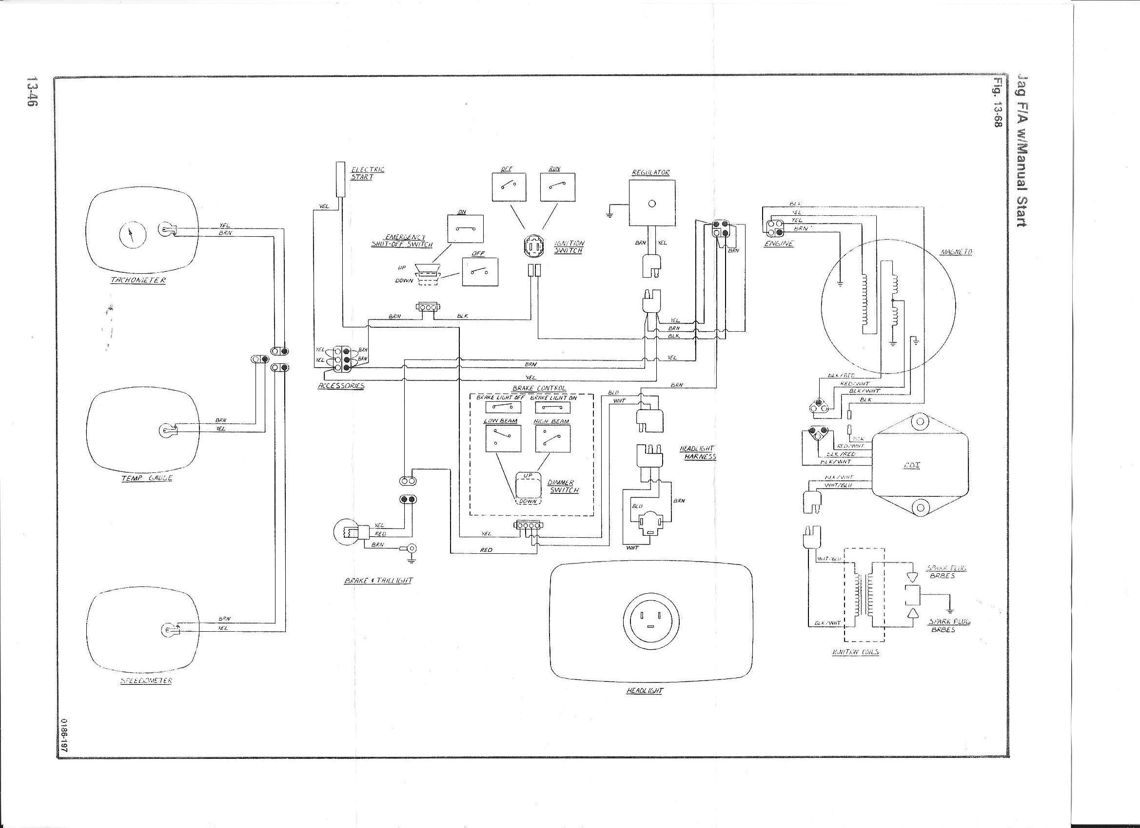 Wiring Diagram For Arctic Cat Jag 3000