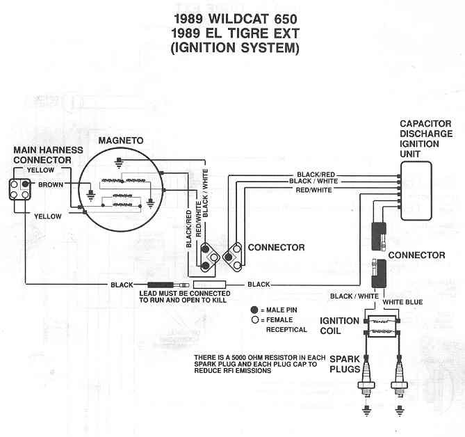 197881d1292292254 el tigre ext 1989 ext wiring diagram2 el tigre ext arcticchat com arctic cat forum snowmobile voltage regulator wiring diagram at gsmx.co