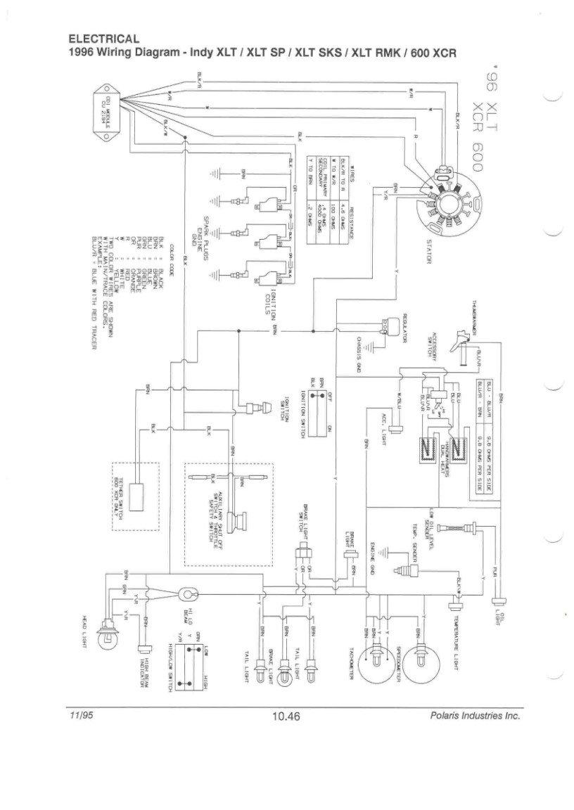 wiring diagram polaris indy 600 96 xcr no spark  need specs arctic cat forum  96 xcr no spark  need specs arctic