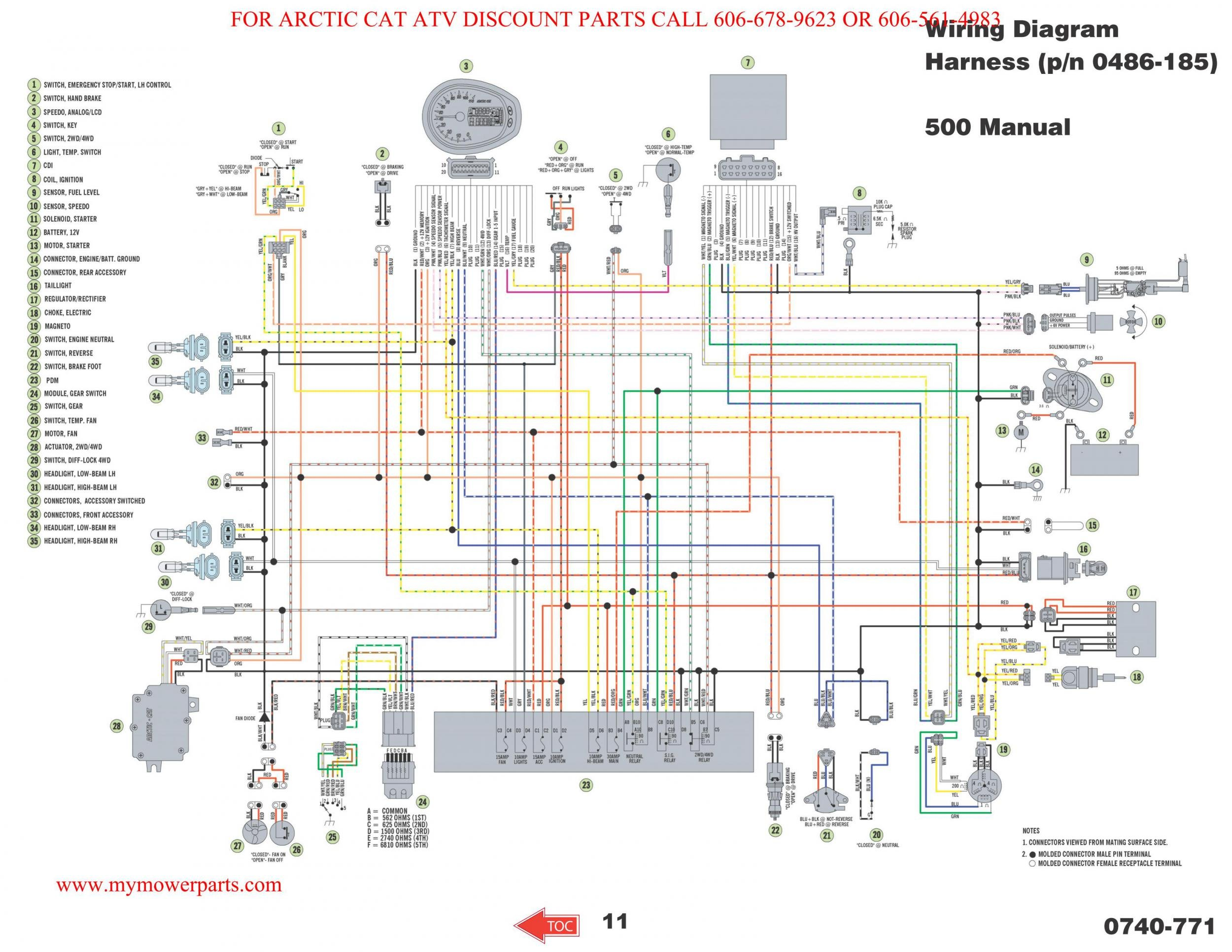 Wiring Diagram Arctic Cat Forum