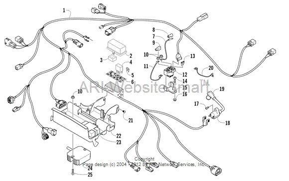 [QNCB_7524]  2011 350 (Kymco 366) no spark - where to begin? | Arctic Cat Forum | Kymco And Spark Plug Wiring Harness |  | Arctic Cat Forum