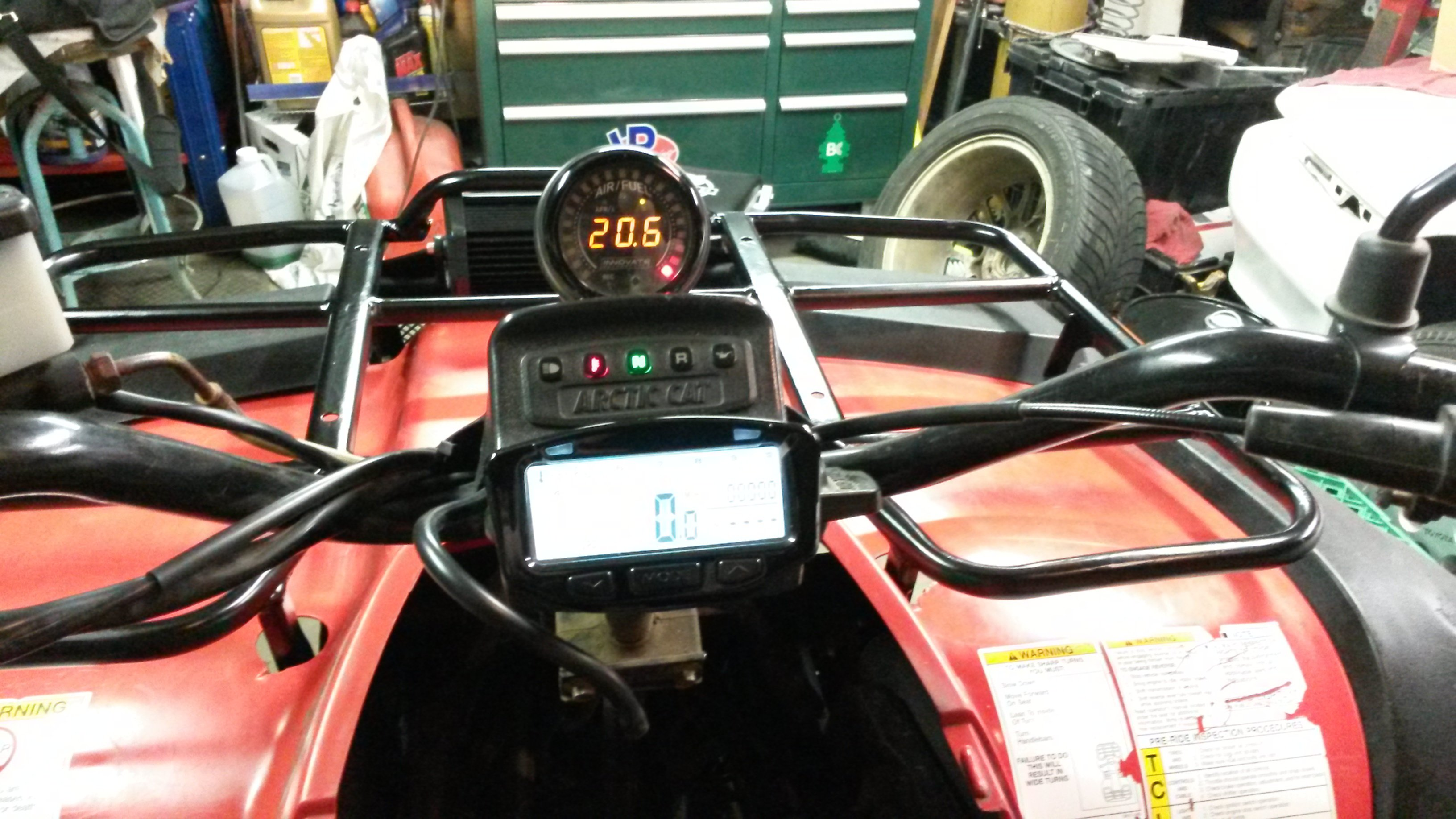 Adding A Tachometer To 2004 Arctic Cat 400 Utility Verison Circuit Led Bar Click Image For Larger Version Name 20140807 224036 Views 1331 Size 152