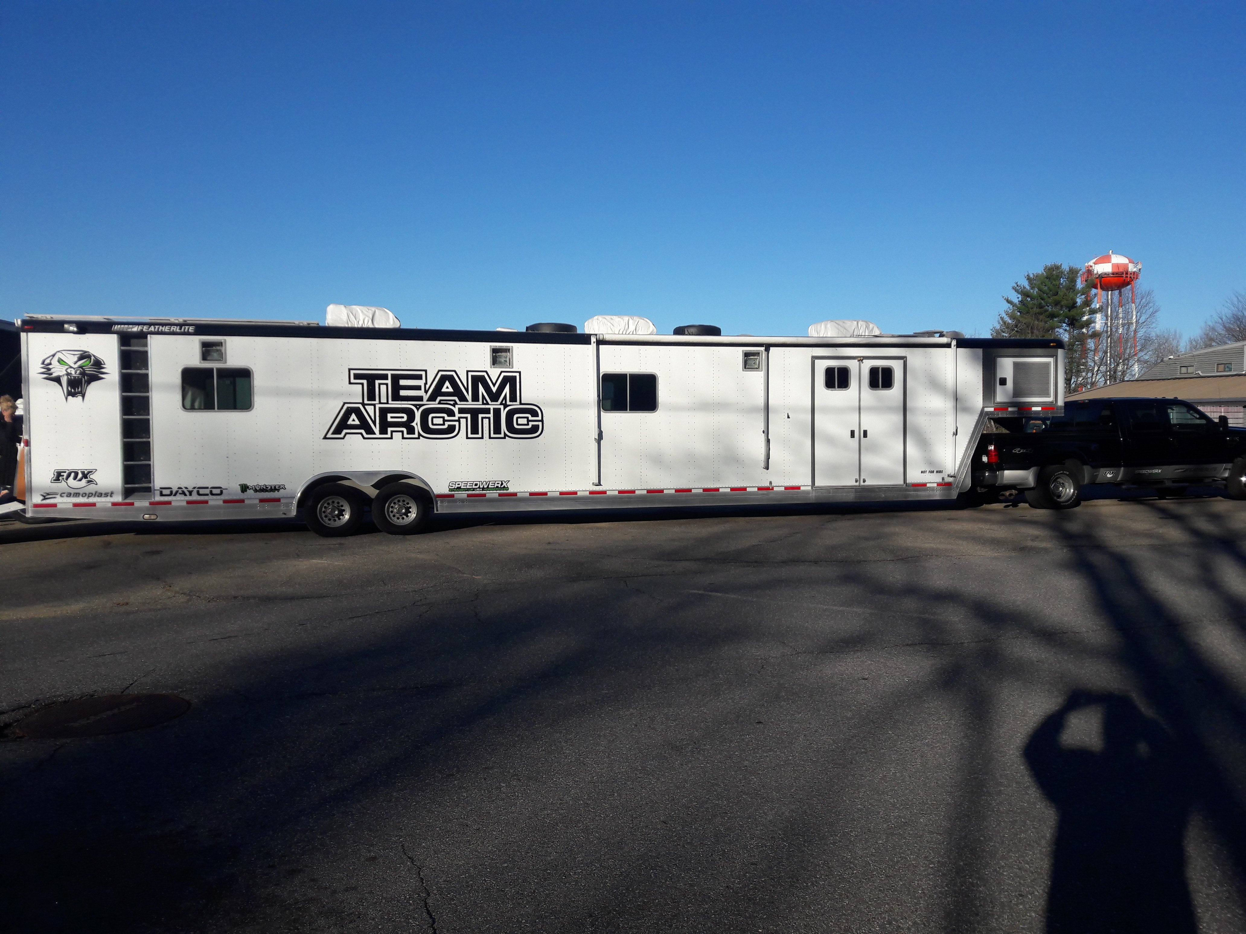 2000 53 Featherlite Enclosed Race Trailer For Sale