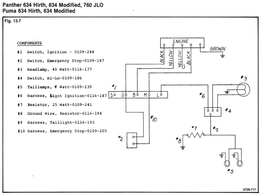1970 panther 634 hirth - arcticchat.com - arctic cat forum 2002 arctic cat 500i atv wiring diagrams arctic cat 440 snowmobile wiring diagrams