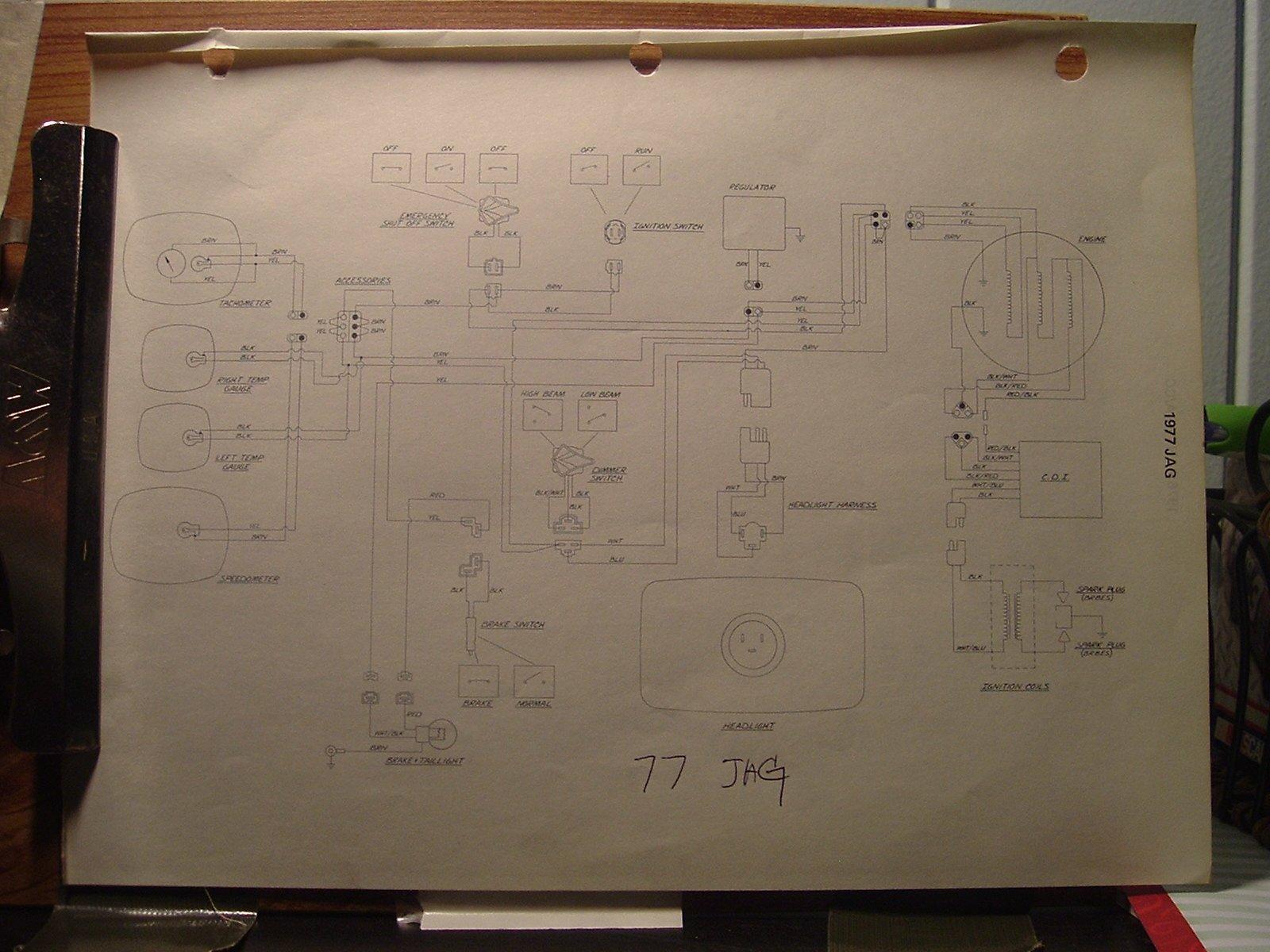 1980 Jag electrical Diagram   Arctic Cat ForumArctic Chat