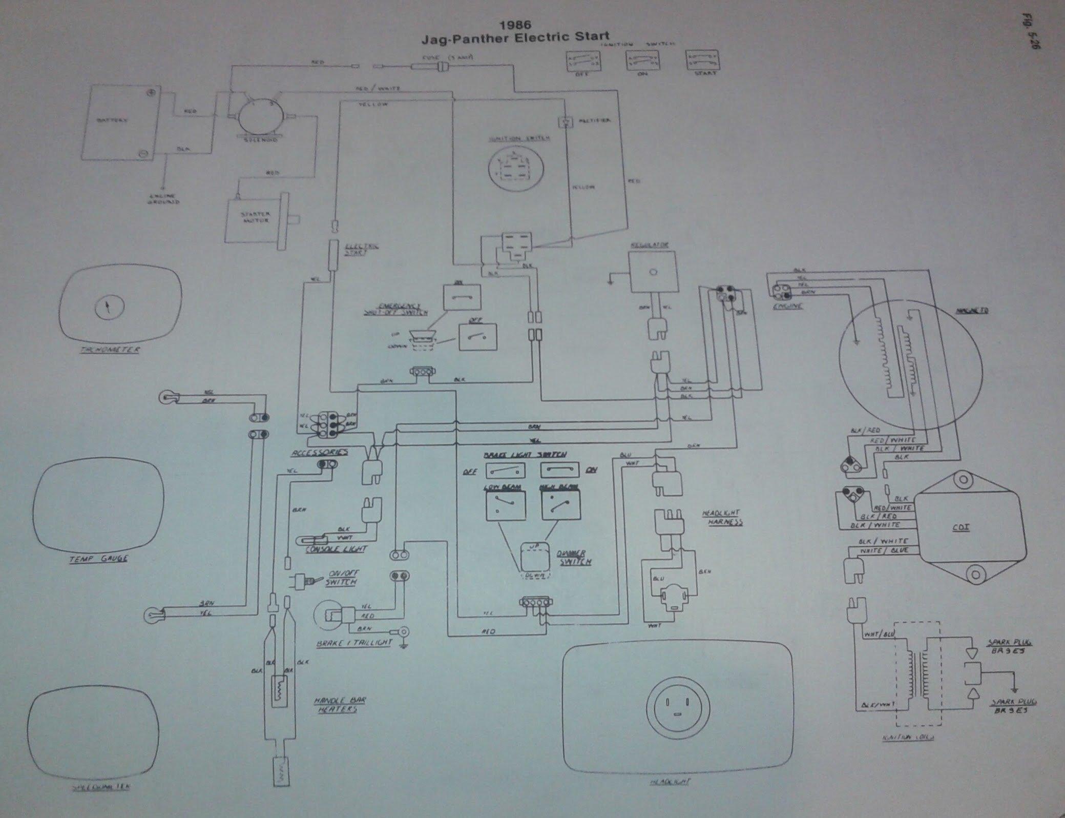 73 Panther 400 Wiring Diagram Arcticchatcom Arctic Cat Forum