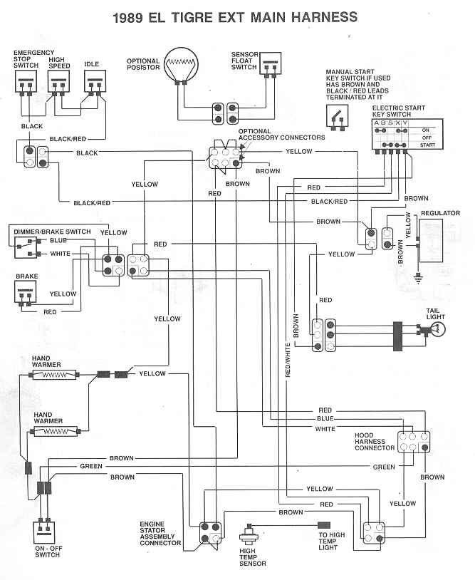 [DIAGRAM_38YU]  1991 ElTigre Ext Wiring Diagram | Arctic Cat Forum | 1991 Arctic Cat Jag Wiring Diagram |  | Arctic Cat Forum