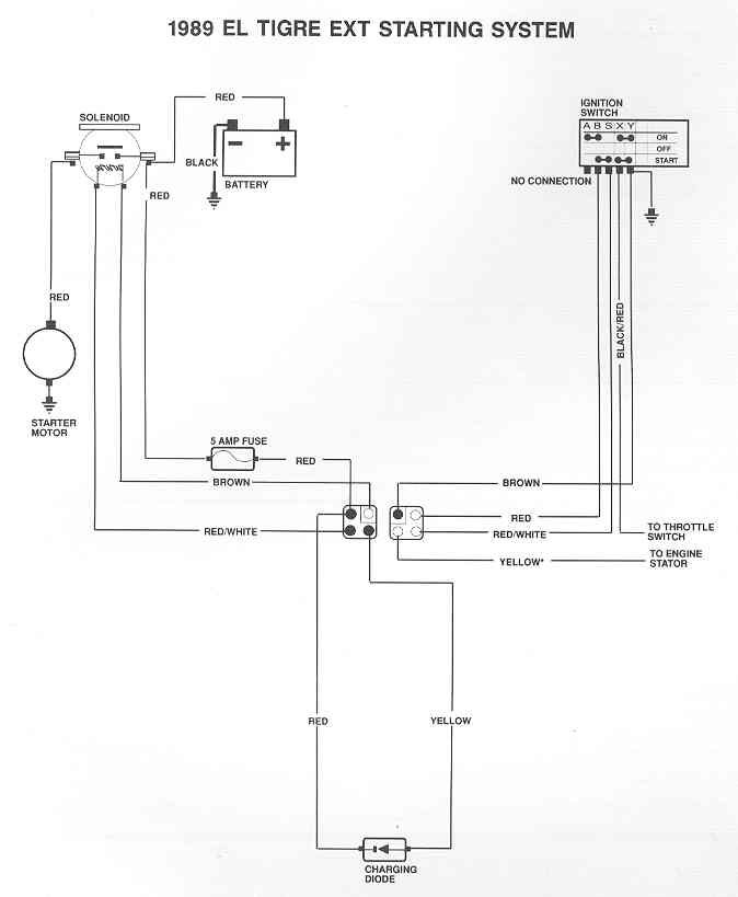 1991 eltigre ext wiring diagram arcticchat com arctic cat forum 1991 Arctic Cat Ext Special click image for larger version name 89_eltigre_starting_sys jpg views 5181 size 23 6