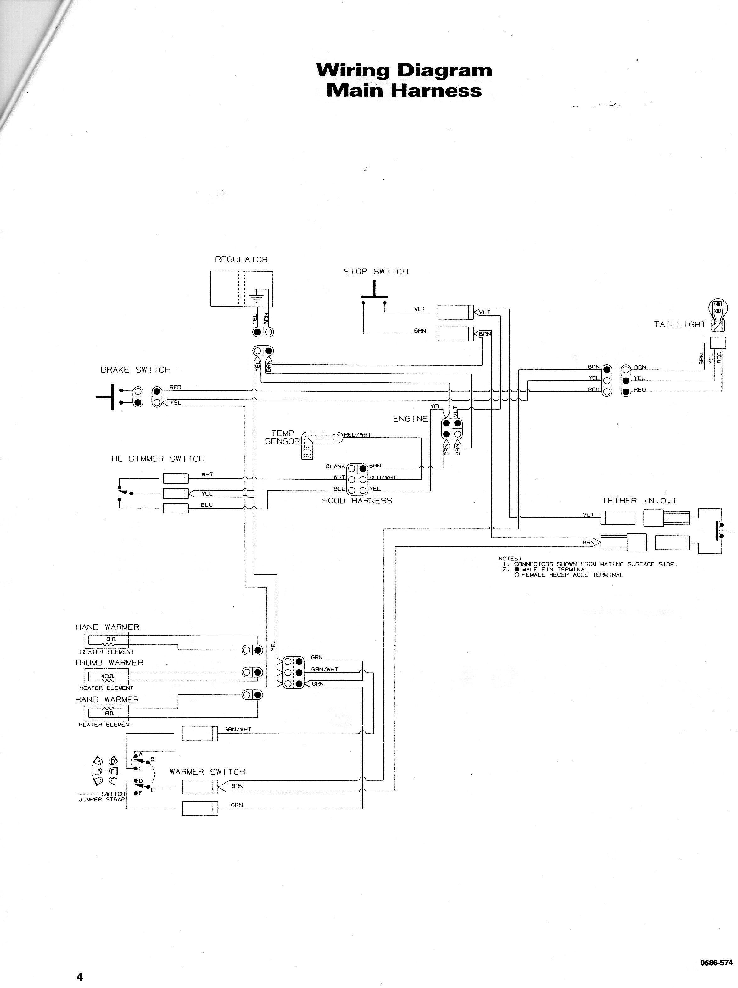 arctic cat m7 wiring diagram arctic wiring diagrams