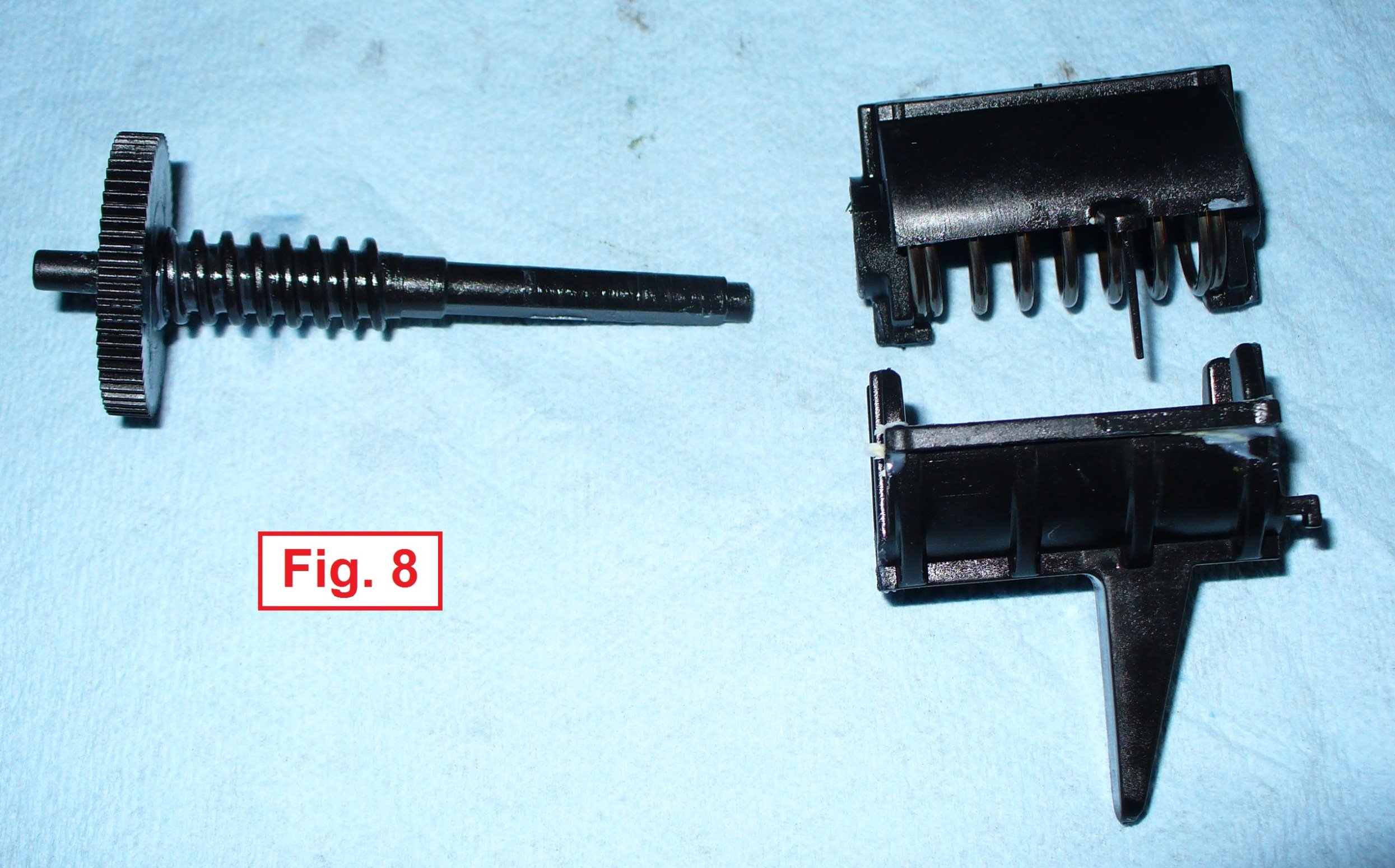 4WD Actuator 0502-296 (3-wire) removal, disassembly, and ...