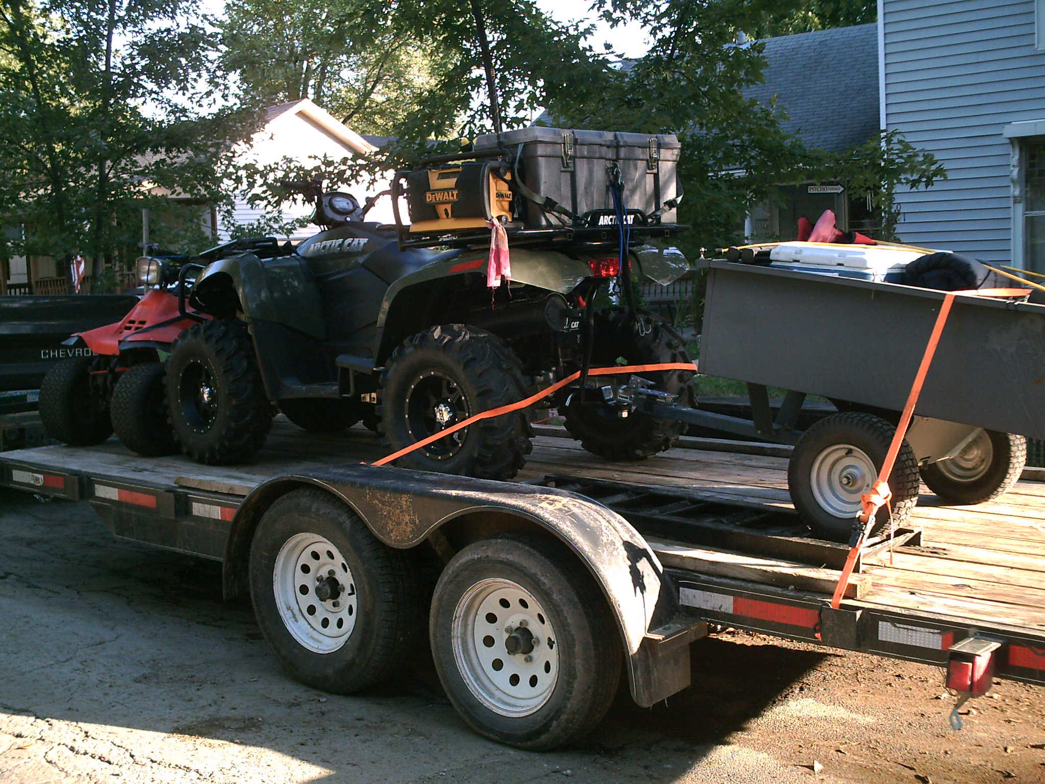 Need A Small Trailer For Behind Atv Arcticchat Com Arctic Cat Forum