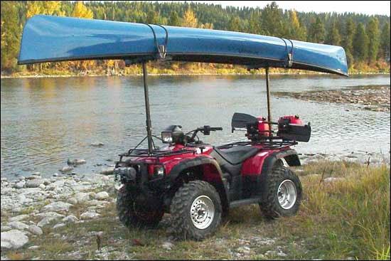 Homemade Canoe Rack For Atv - Homemade Ftempo
