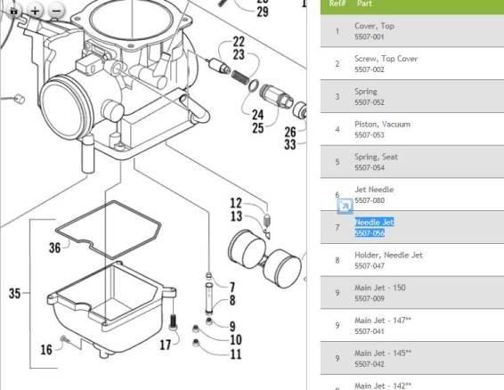 31 Arctic Cat 400 Carburetor Diagram
