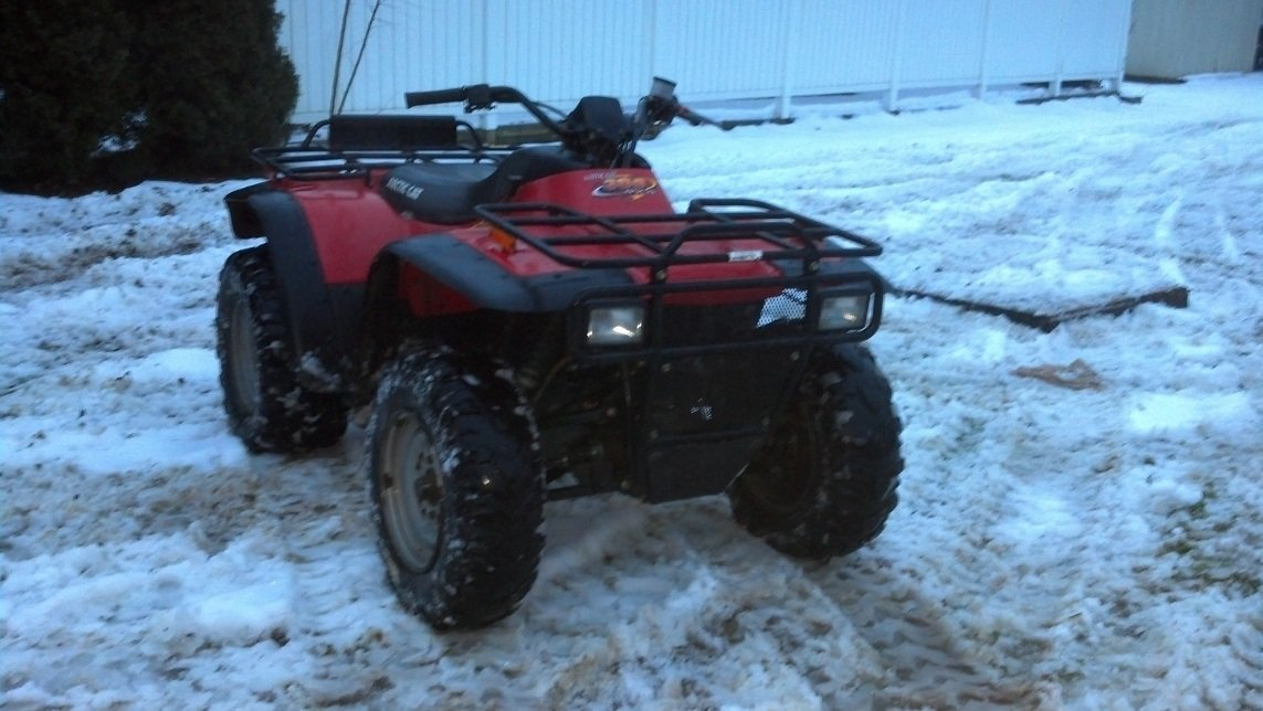 Just Bought A Ac 300 4x4 Arcticchat Com Arctic Cat Forum