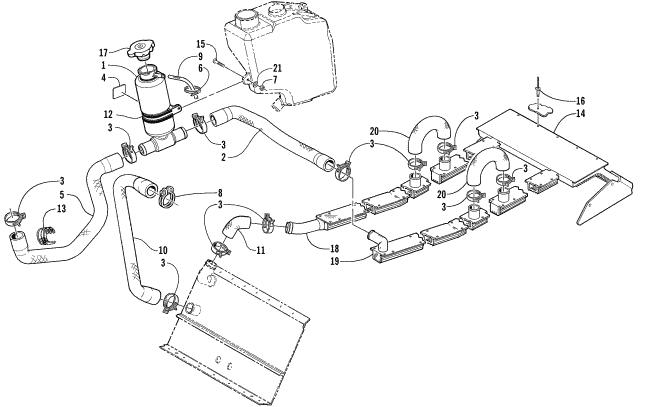 1999 2002 Moutain Cat Coolingheat Exchanger Question