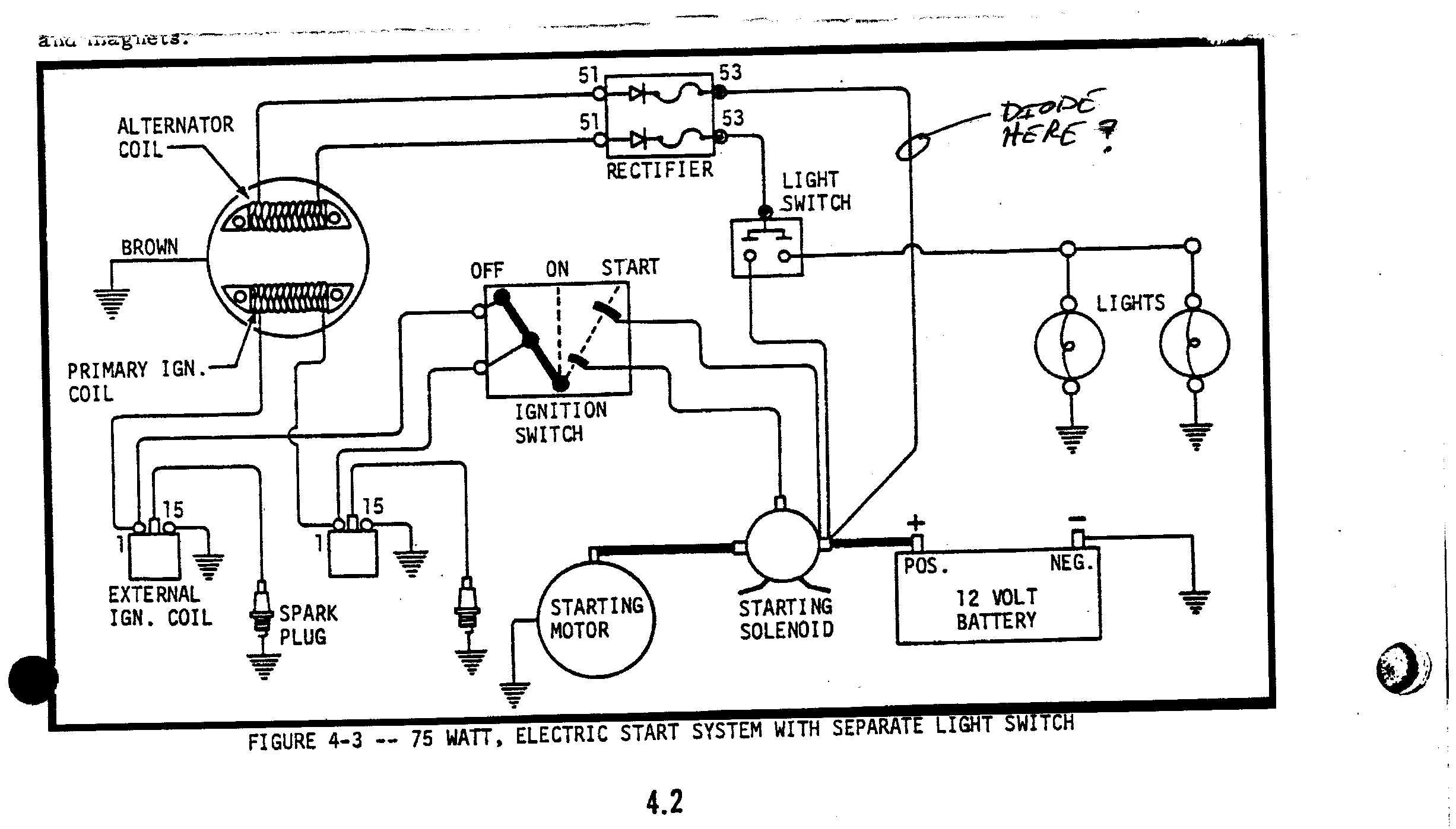 arctic cat 250 wiring schematic added elect start... not good! - page 3 - arcticchat.com ... #5