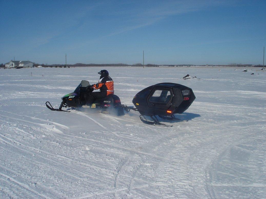 Arctic Cat Skidoo >> snowmobile pull behind sled - ArcticChat.com - Arctic Cat Forum