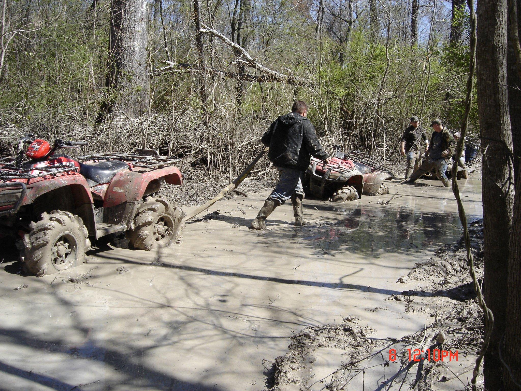 ATV Pictures: ATV Riding Through the Mud in Ontario, ATV Images