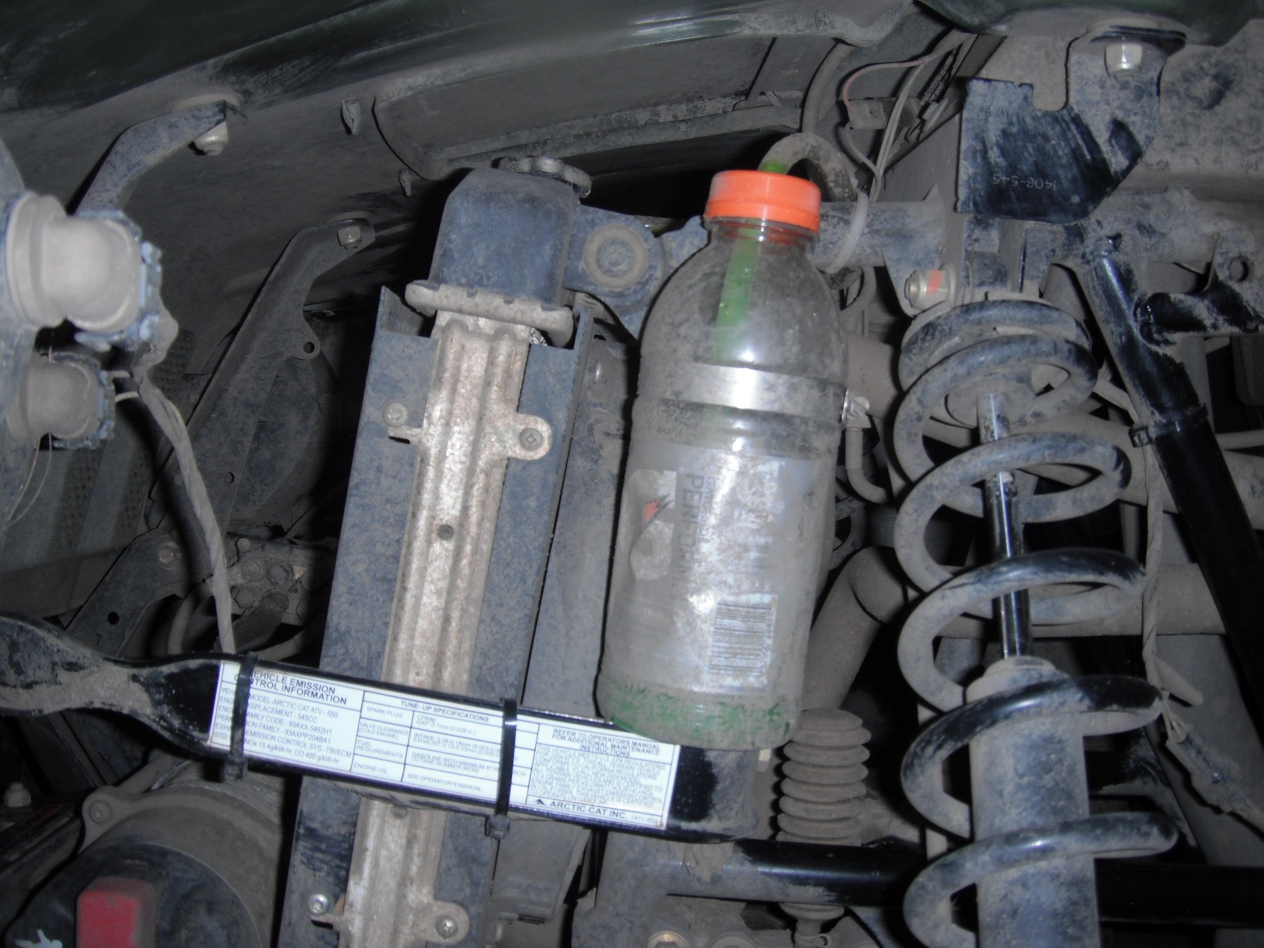 ... coolant recovery bottle. Attached Thumbnails. Click image for larger  version Name: DSCF0163.JPG Views: 10182 Size: 1.23