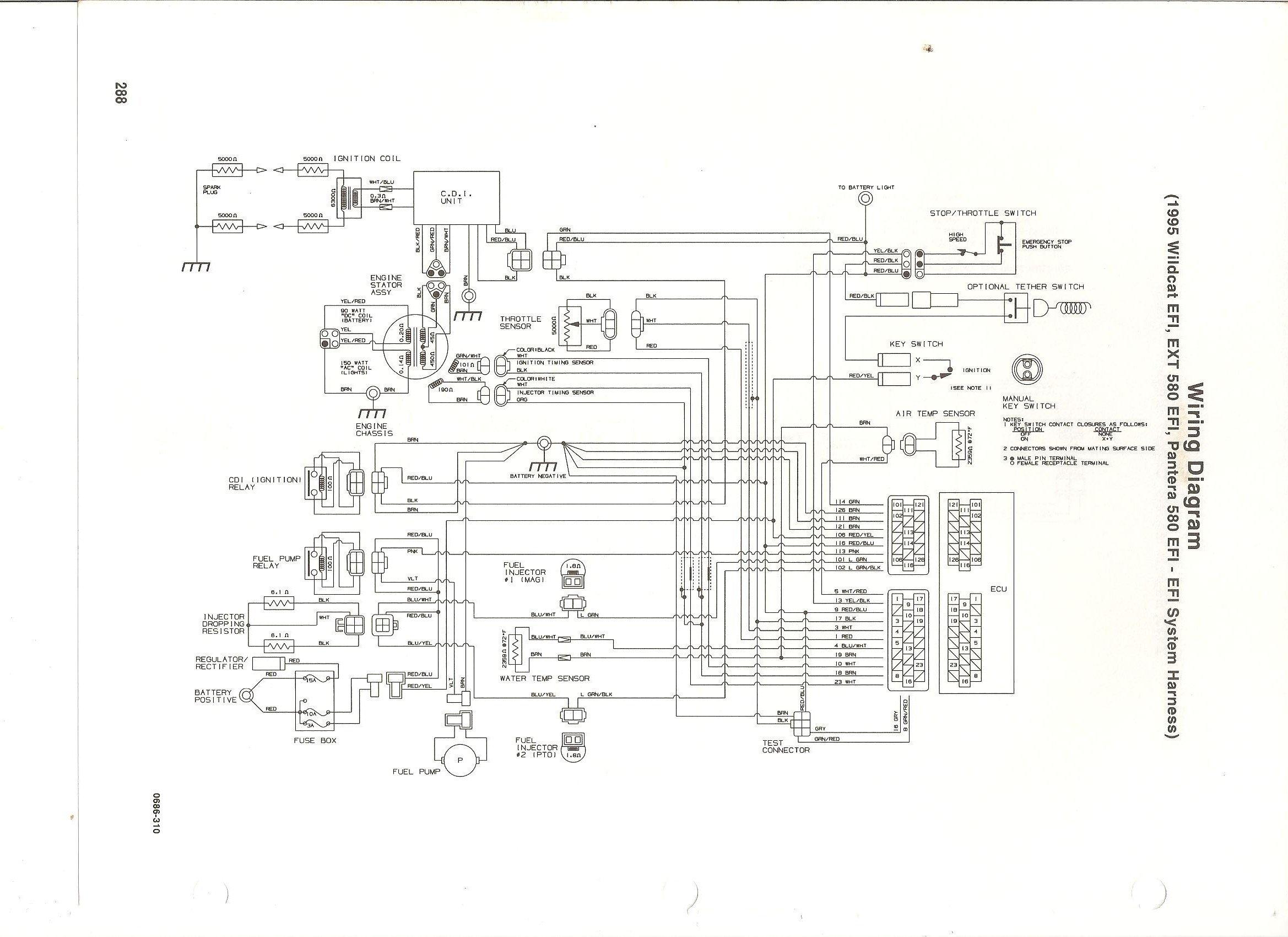 [SCHEMATICS_4UK]  94 EXT 580 electrical schematic | Arctic Cat Forum | Arctic Cat 580 Efi Wiring Diagram |  | Arctic Cat Forum