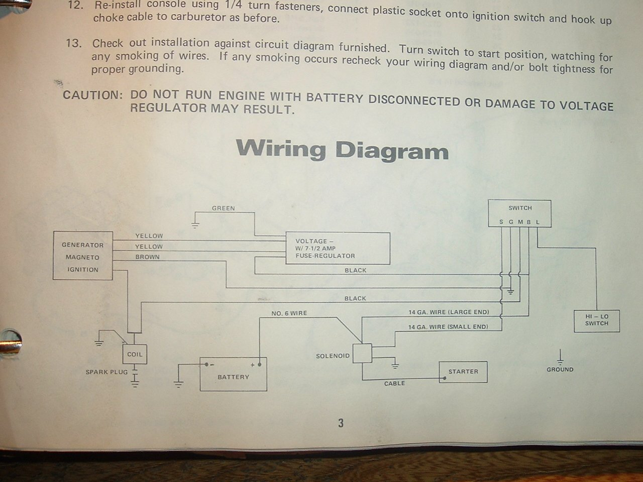 kohler command 12 5 ohv wiring diagram anyone   wiring diagram for 1971 panther 399 kohler arctic cat forum  wiring diagram for 1971 panther 399