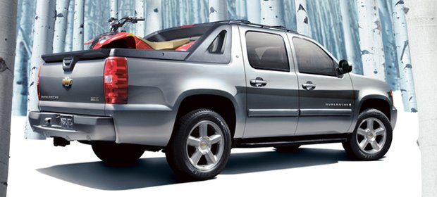 Chevrolet Avalanche Bed Size
