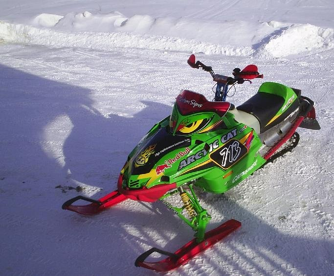 2006 Arctic Cat F5 Firecat Sno Pro High Performance Snowmobiles