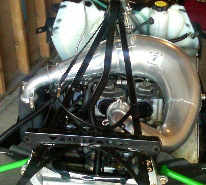 D F Motor Sno Pro Final Assembly on 7 3 Engine Swap