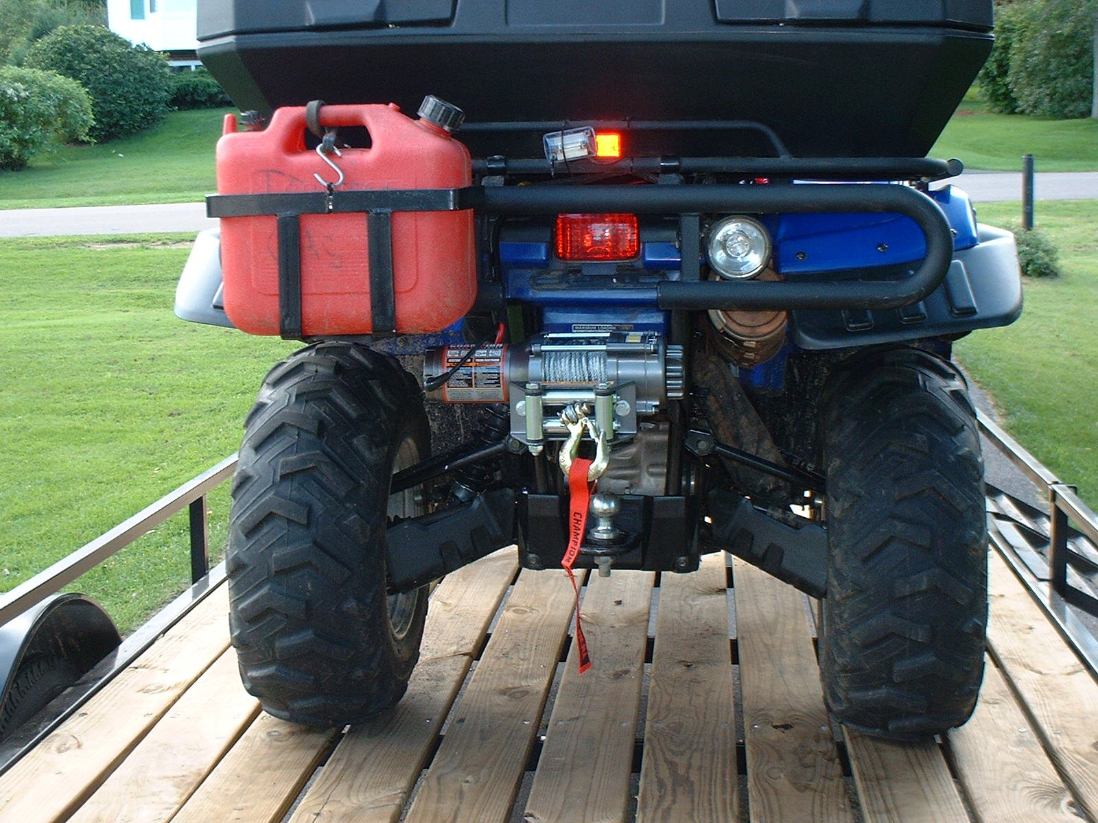 Yamaha Grizzly  Winch Mount