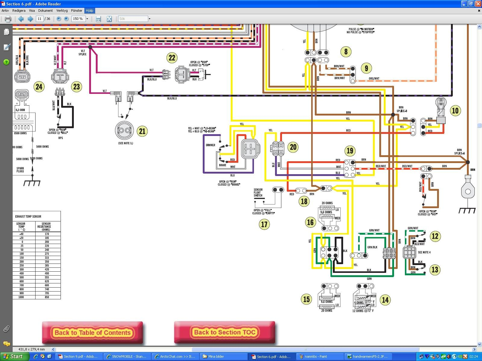 need a wiring diagram for a 2005 f5 arctic cat forum caterpillar wiring diagrams cat v4 0b wire diagram #3