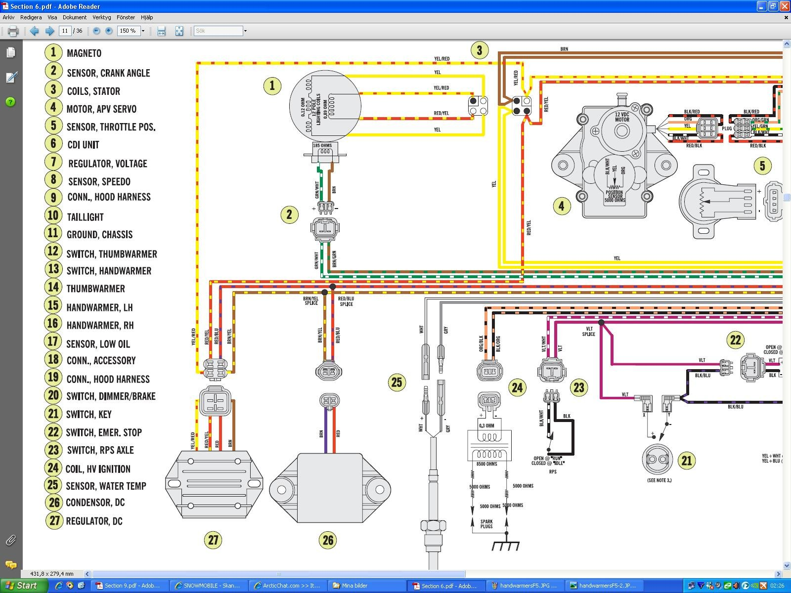 arctic cat 500 wiring diagram 2001