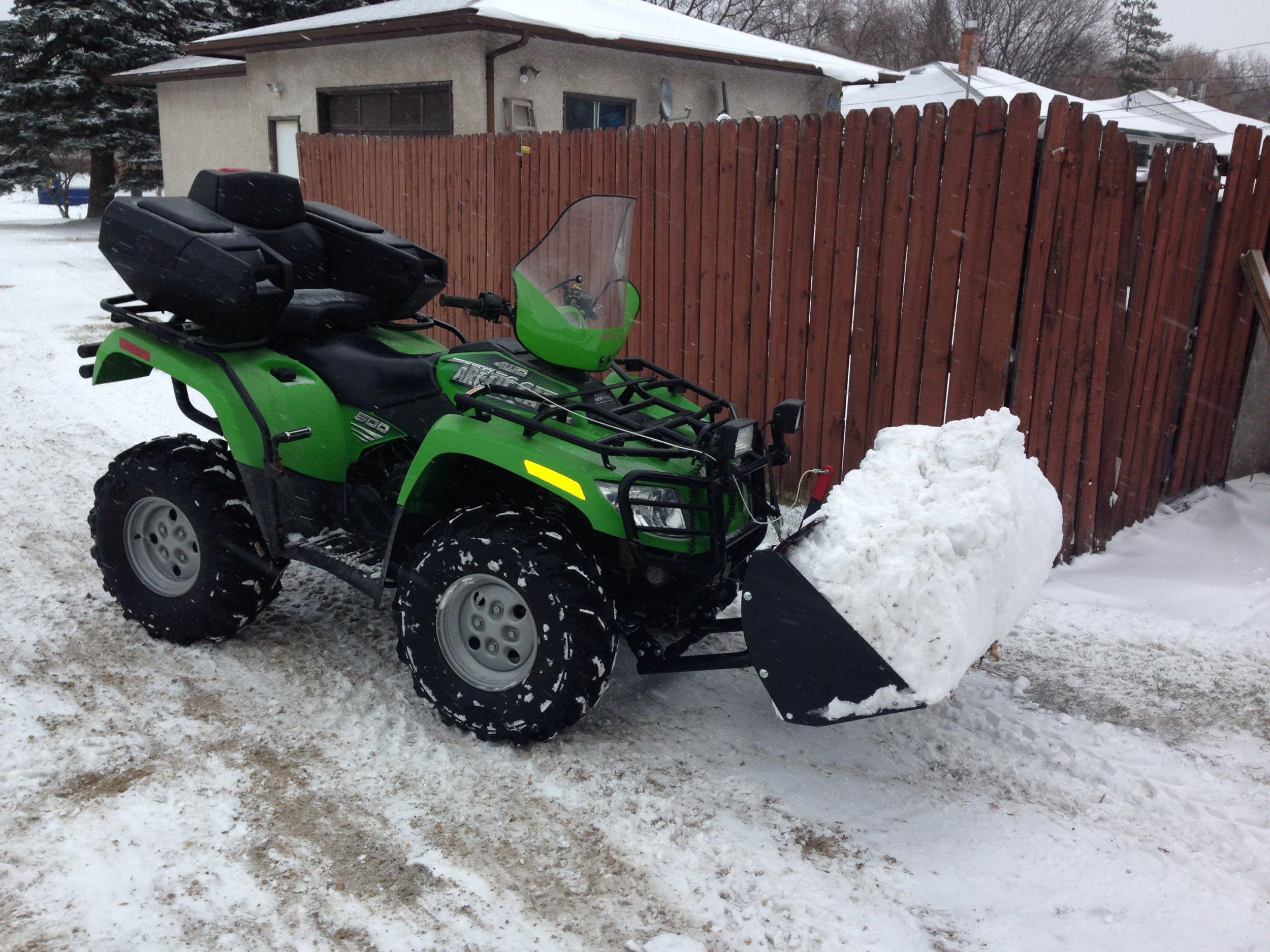 Arctic Cat Atv >> Pros and Cons of Swisher and Warn Front Bucket Loader - ArcticChat.com - Arctic Cat Forum