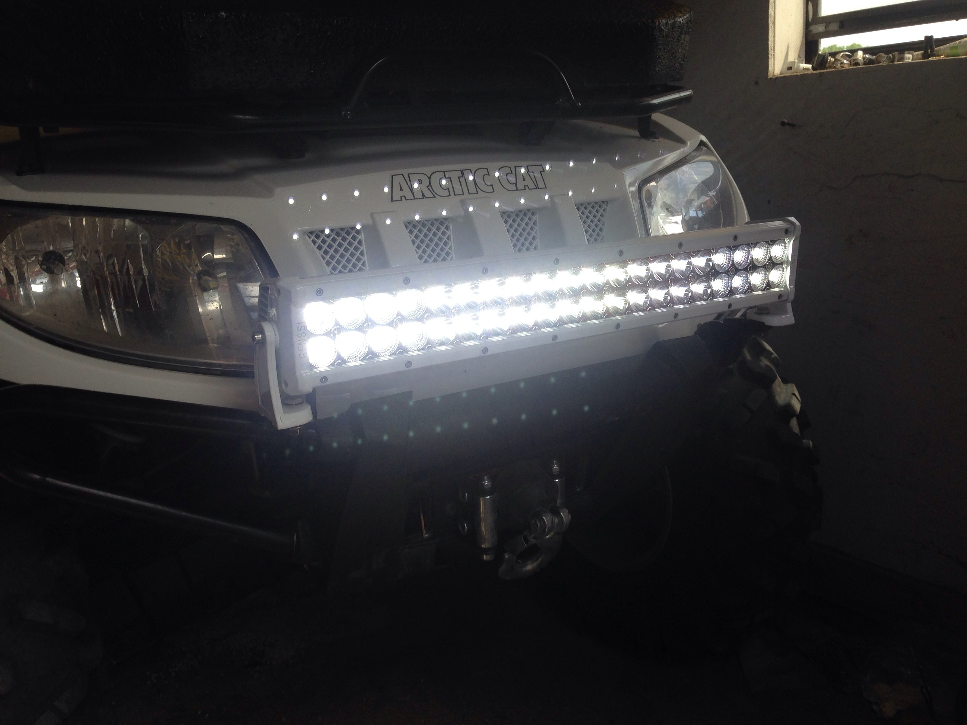 the for led atv installed bars light road your off img lights lighting utv ddm bar bike and best dirt