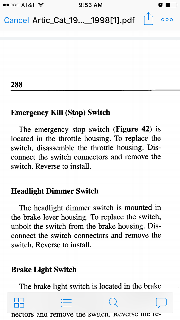 96 Wildcat 700 Kill Switch Help - Arcticchat Com