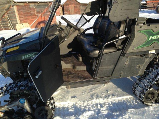 Steel Half Doors On Hdx Arcticchat Com Arctic Cat Forum