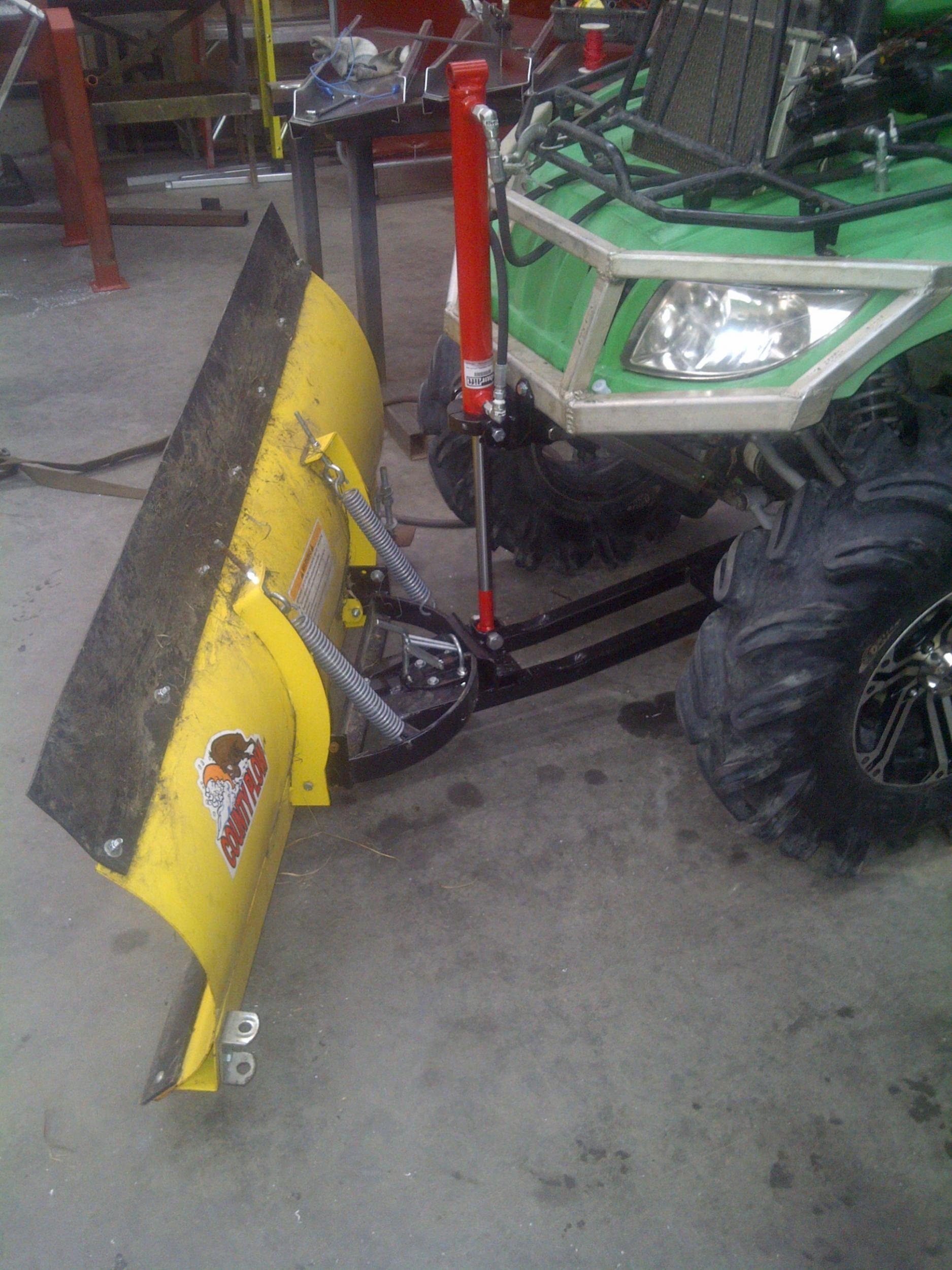 The Hydracat Installing My Custom Full Hydraulic System On My