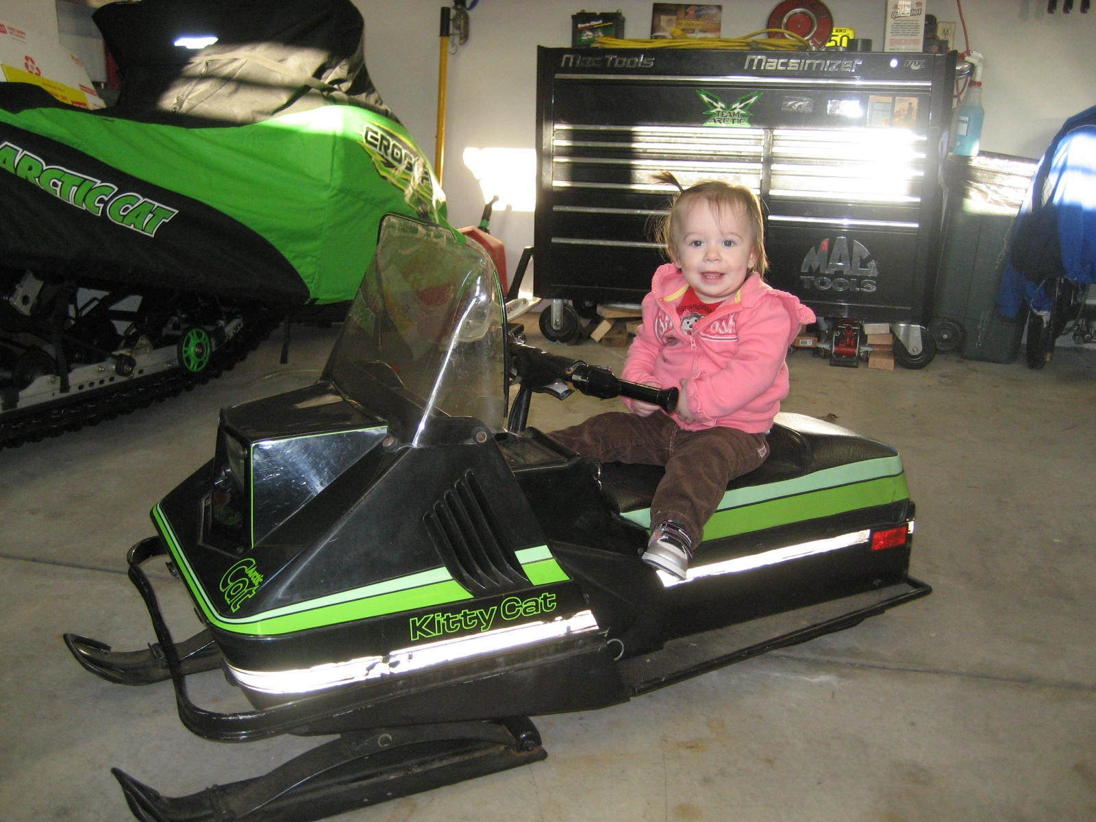 Picked up an 85 Kitty Cat ArcticChat Arctic Cat Forum