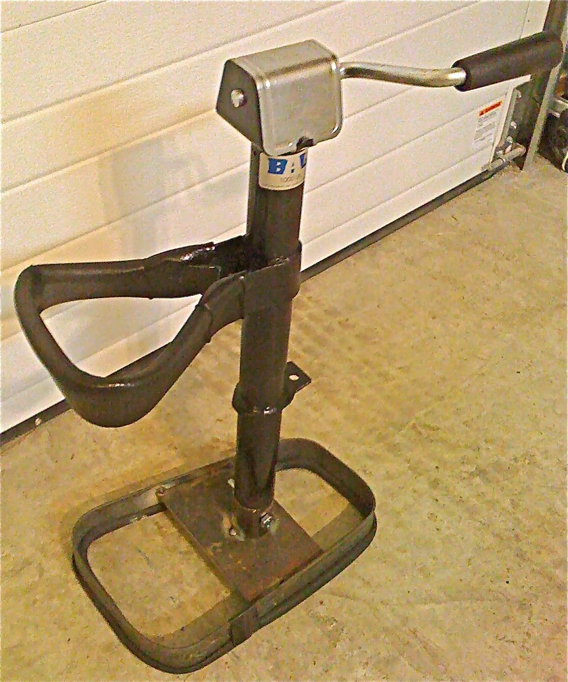 Snow Foot Snowmobile Jack Stand Lift It All 1000lb