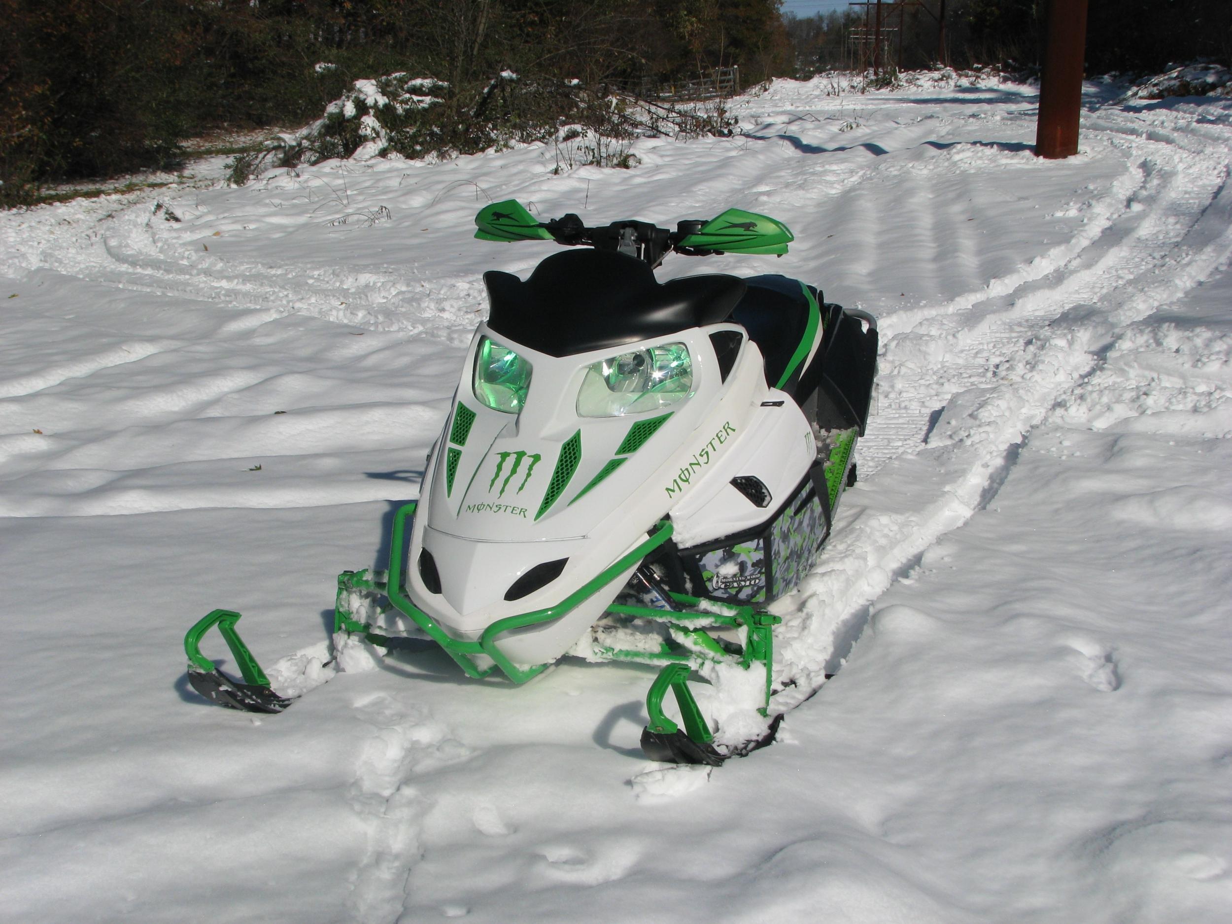 2009 F8 Custom White With Led Pics Arcticchat Com