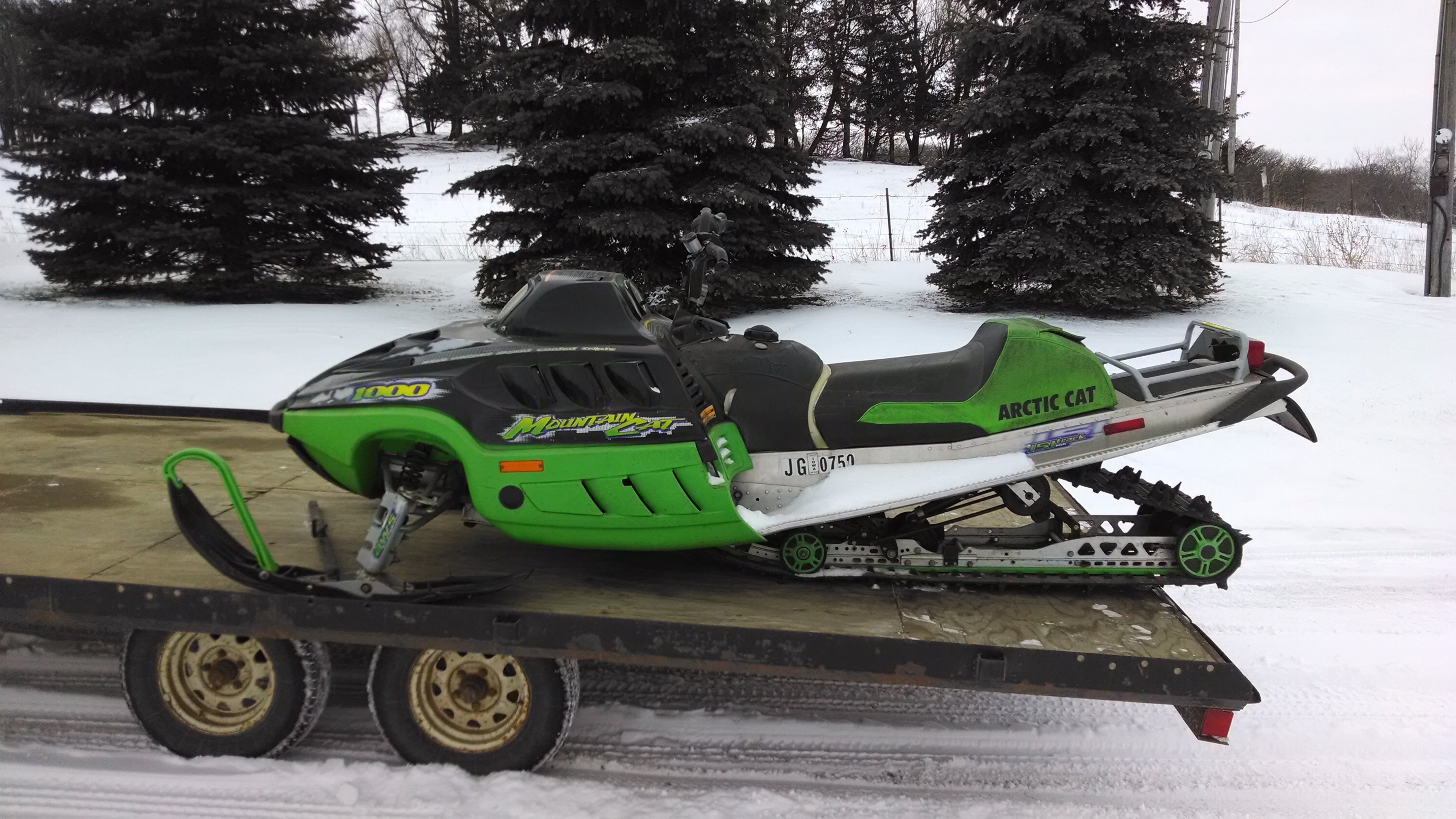 Mountain Cat 1000 Arcticchatcom Arctic Cat Forum