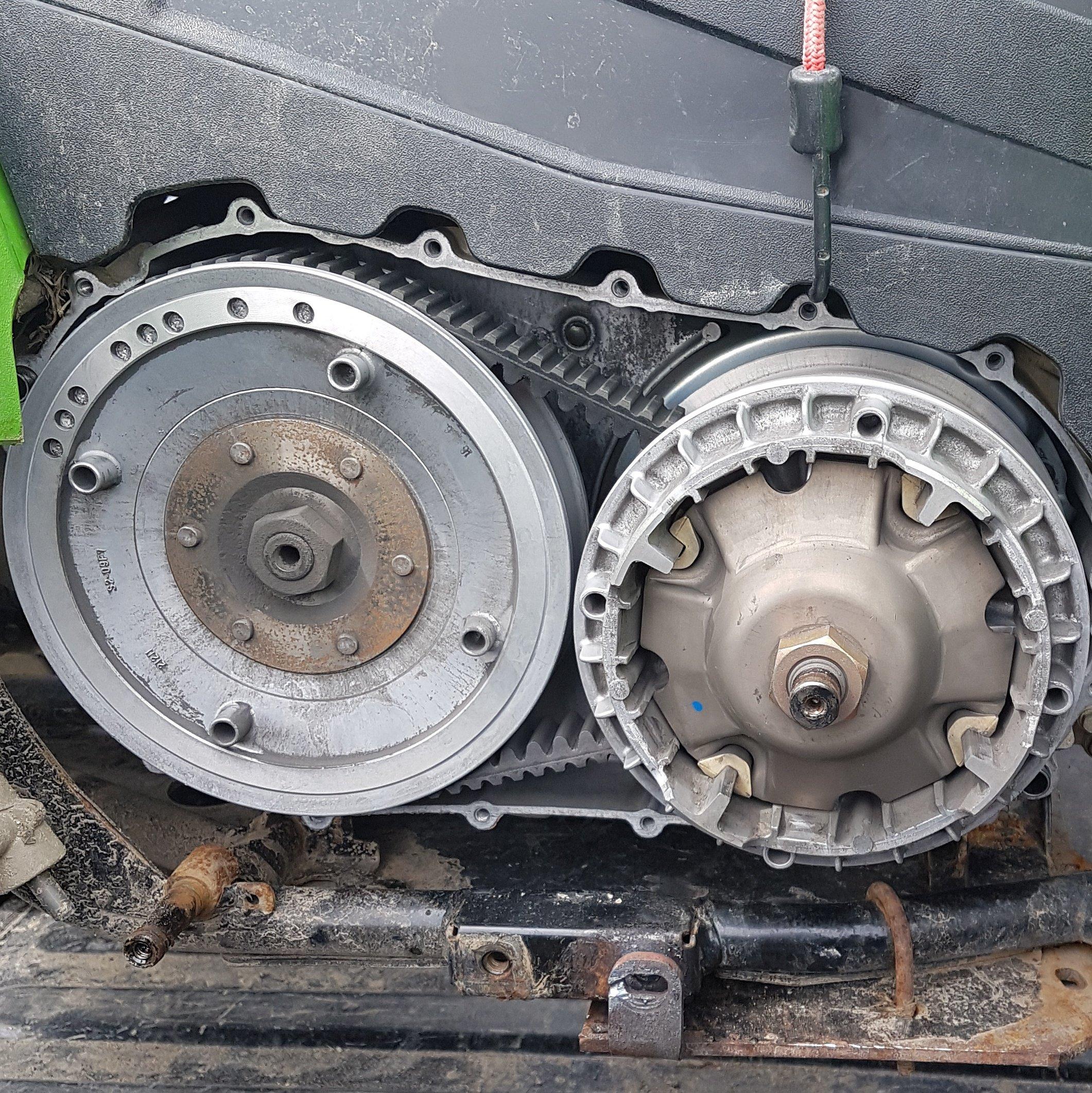 Arctic Cat  Trv Clutch Maintenance