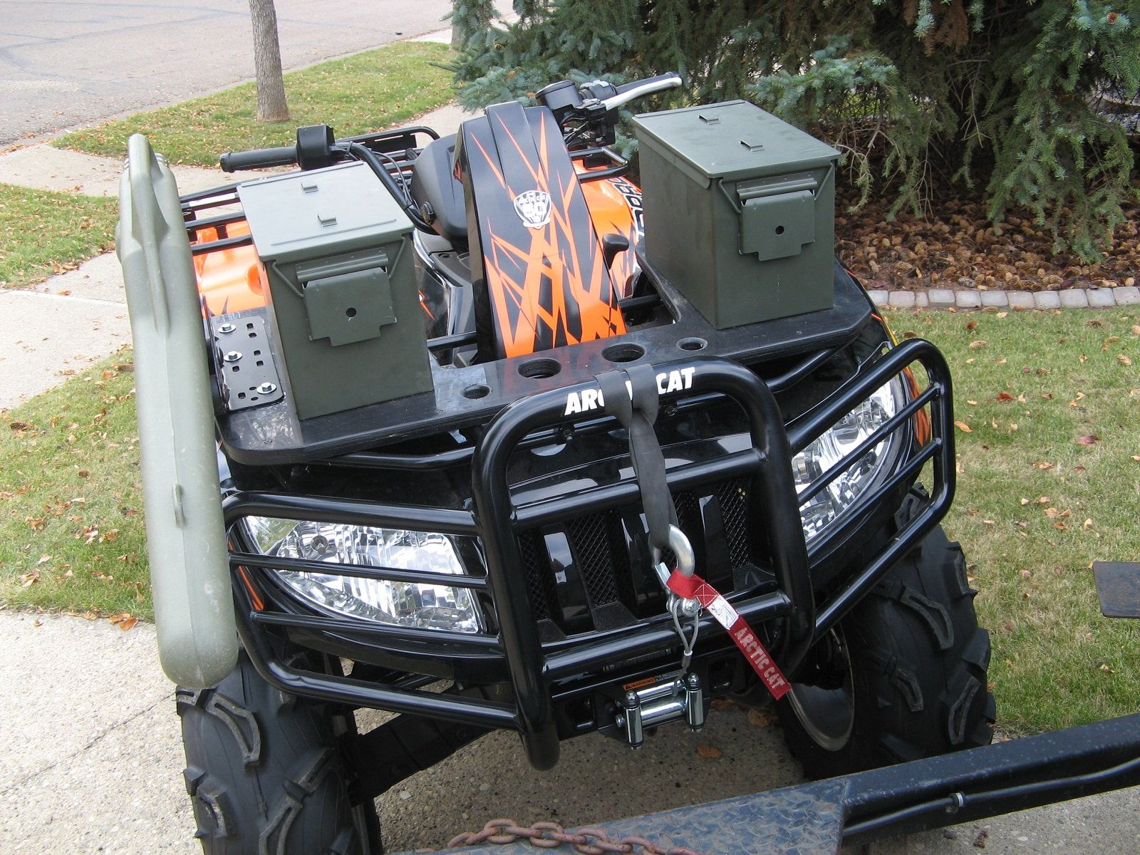 holds all atv rack atvr airhead quot