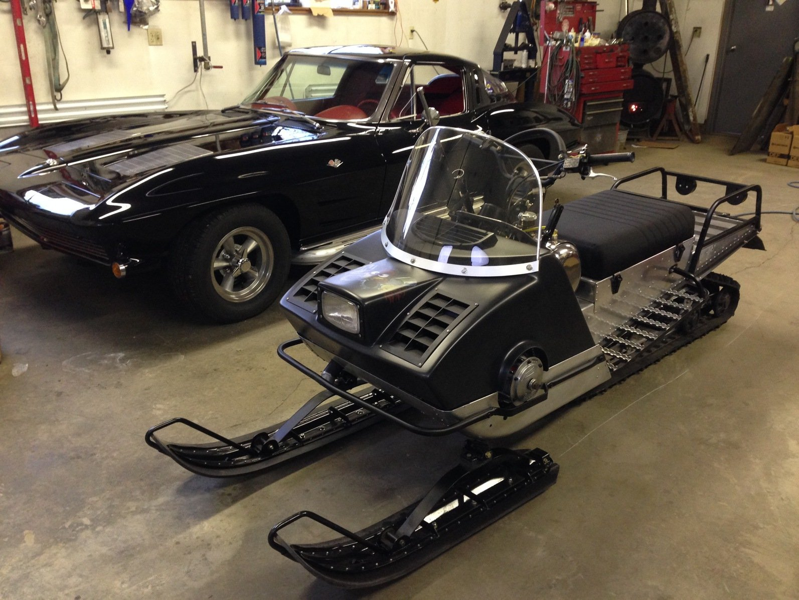 Vintage Arctic Cat Snowmobiles