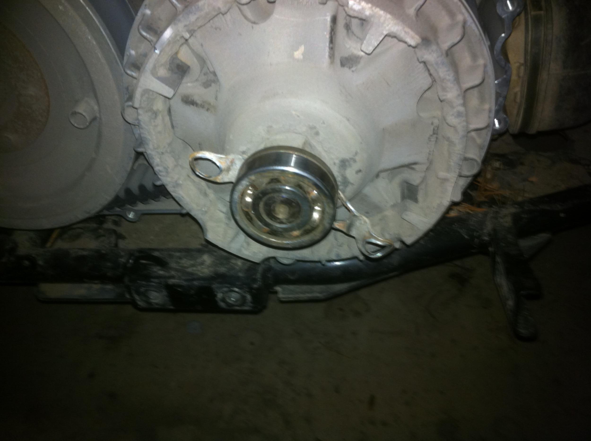 Belt cover bearing seized on shaft  - ArcticChat com - Arctic Cat Forum